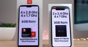 OnePlus 6 vs iPhone X, meglio 3GB di RAM o 8GB?