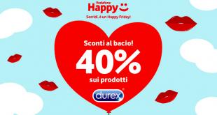 Vodafone Happy vi regala uno sconto durex in occasione della giornata del bacio