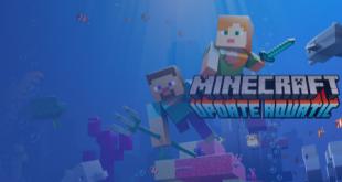 Minecraft mobile si aggiorna con un nuovo mondo acquatico