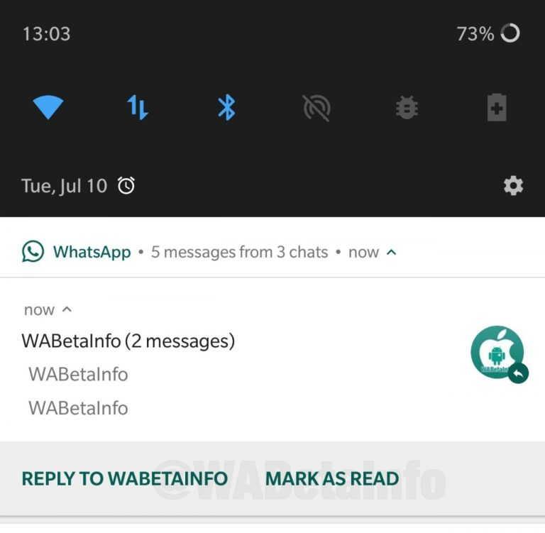 Whatapp segna come già letto