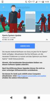 Sony Xperia XZ2 e XZ2 Compact si preparano a ricevere le patch di sicurezza di luglio