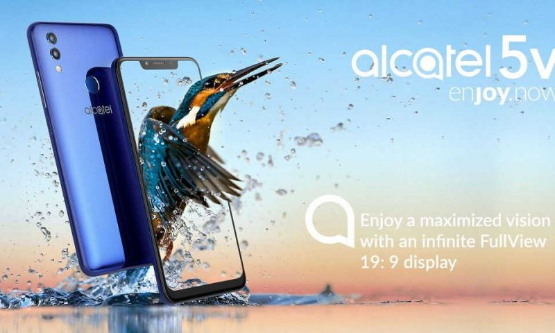 Alcatel 5V, presentato il nuovo entry level con schermo fullView