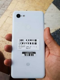 Google Pixel 3 XL trapela in bianco in alcune presunte foto
