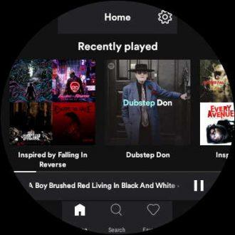 Spotify Lite: eseguito il porting non ufficiale su Wear OS