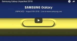 Galaxy Note 9 livestream: Segui l'evento da qui