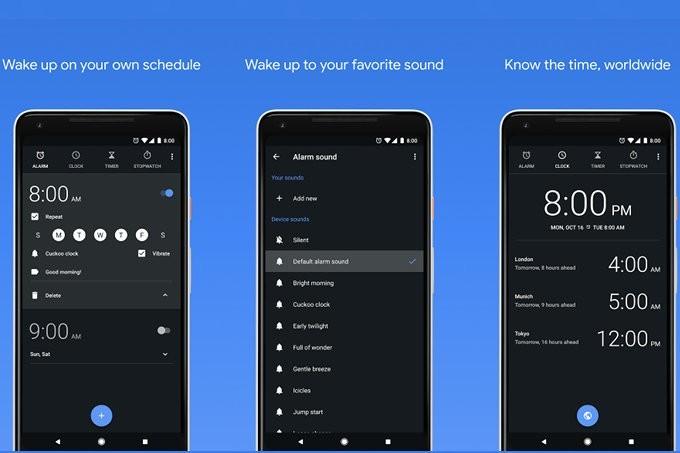 L'App Google Clock si aggiorna, ora suona anche con Spotify