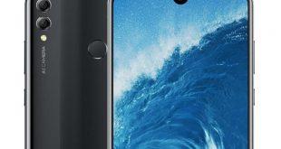 Honor 8X Max, render mostra il notch waterdrop e la parte posteriore