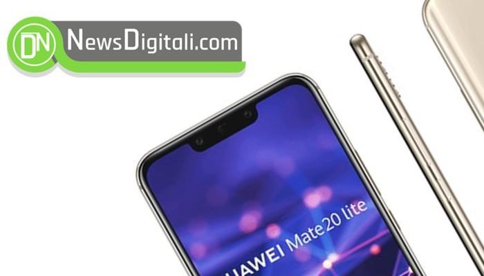 Huawei Mate 20 mostra la tacca nella prima immagine stampa