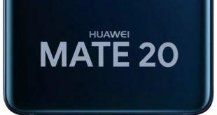 Il pannello di Huawei Mate 20 ci stuzzica con il lettore di impronte a schermo