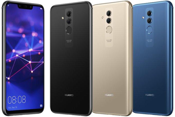 Altra indiscrezione su Huawei Mate 20 Lite, si parla di tre colorazioni
