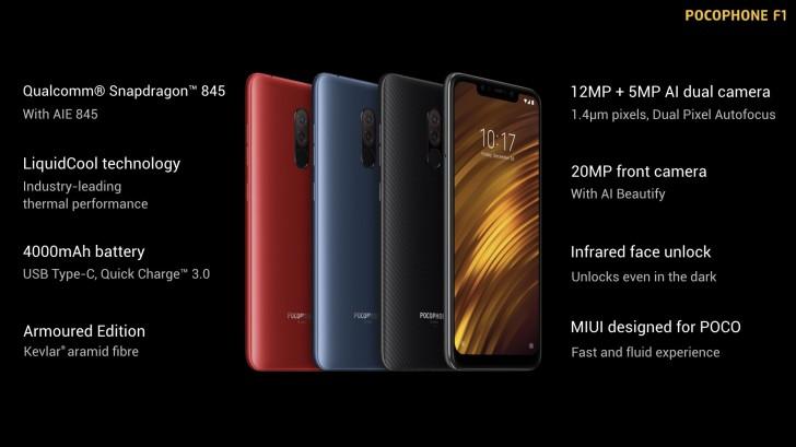 Xiaomi lancia il Pocophone F1 a livello globale, anche in Italia