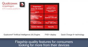 Qualcomm presenta lo Snapdragon 670, pronto per l'intelligenza artificiale