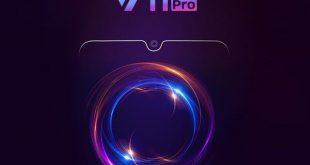 Teaser ufficiale Vivo V11 Pro: design completo, con notch a goccia e AI