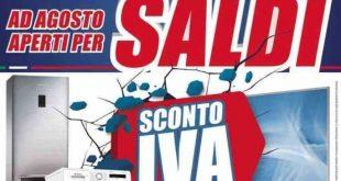 Volantino Trony: ad agosto straccia la concorrenza con lo sconto sull'IVA.