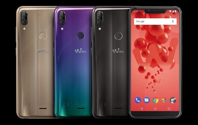 Wiko presenta i nuovi smartphone View2 Go, View2 Plus e Harry2