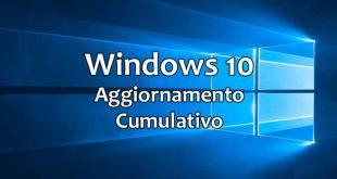 Rilasciato Windows 10 aggiornamento KB4343909 (build 17134.228)