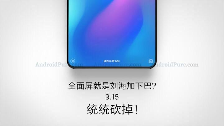 Xiaomi Mi Mix 3 probabile lancio ufficiale per il 15 settembre