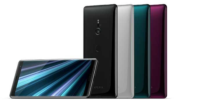 Sony presenta finalmente Xperia XZ3: design senza confini ed esperienza immersiva