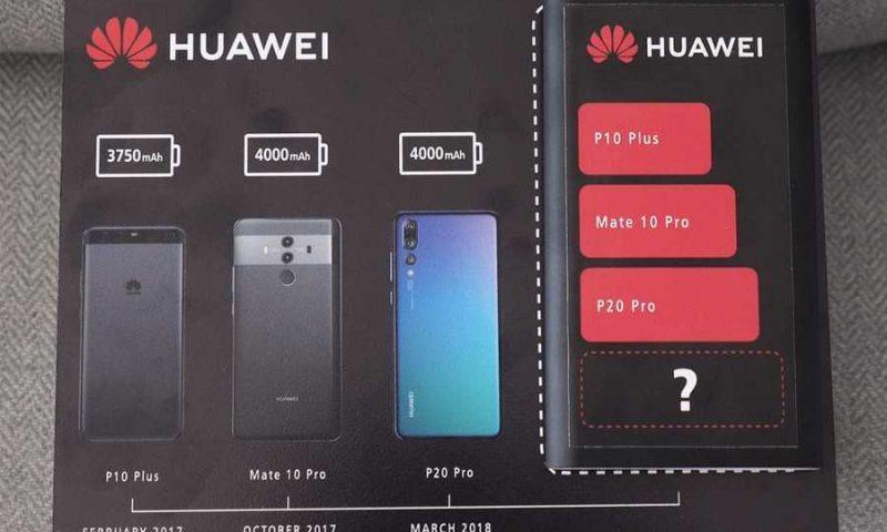 Huawei Mate 20 avrà una batteria ancora più grande