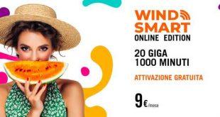 Passa a Wind con Smart Online Edition, ma solo fino al 29 agosto