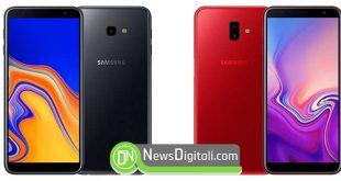 Samsung presenta i nuovi smartphone Galaxy J6+ e J4+