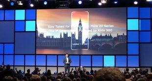 Huawei Mate 20 confermato il lancio il 16 ottobre a Londra