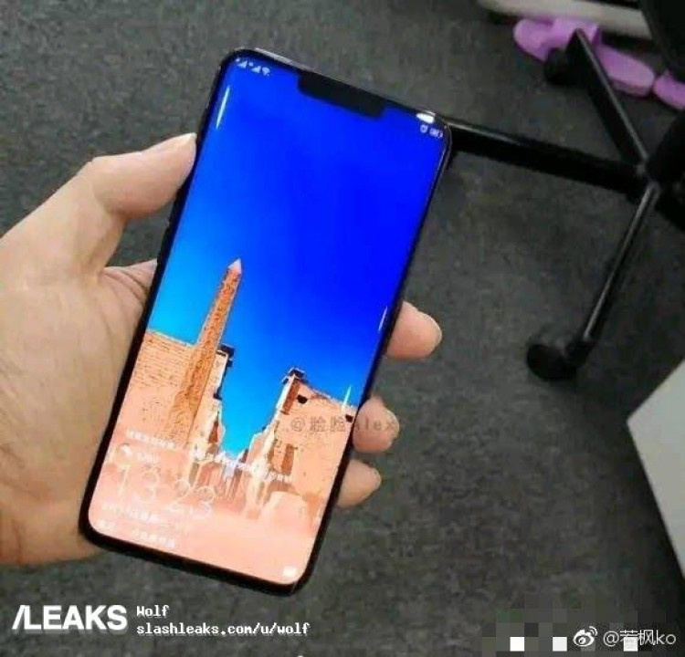 Mate 20 Pro frontale