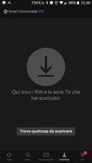 Netflix per Android arriva la barra di navigazione in basso
