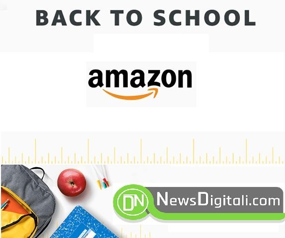 Back to School Amazon: offerte su libri scolastici, materiale didattico e tecnologia