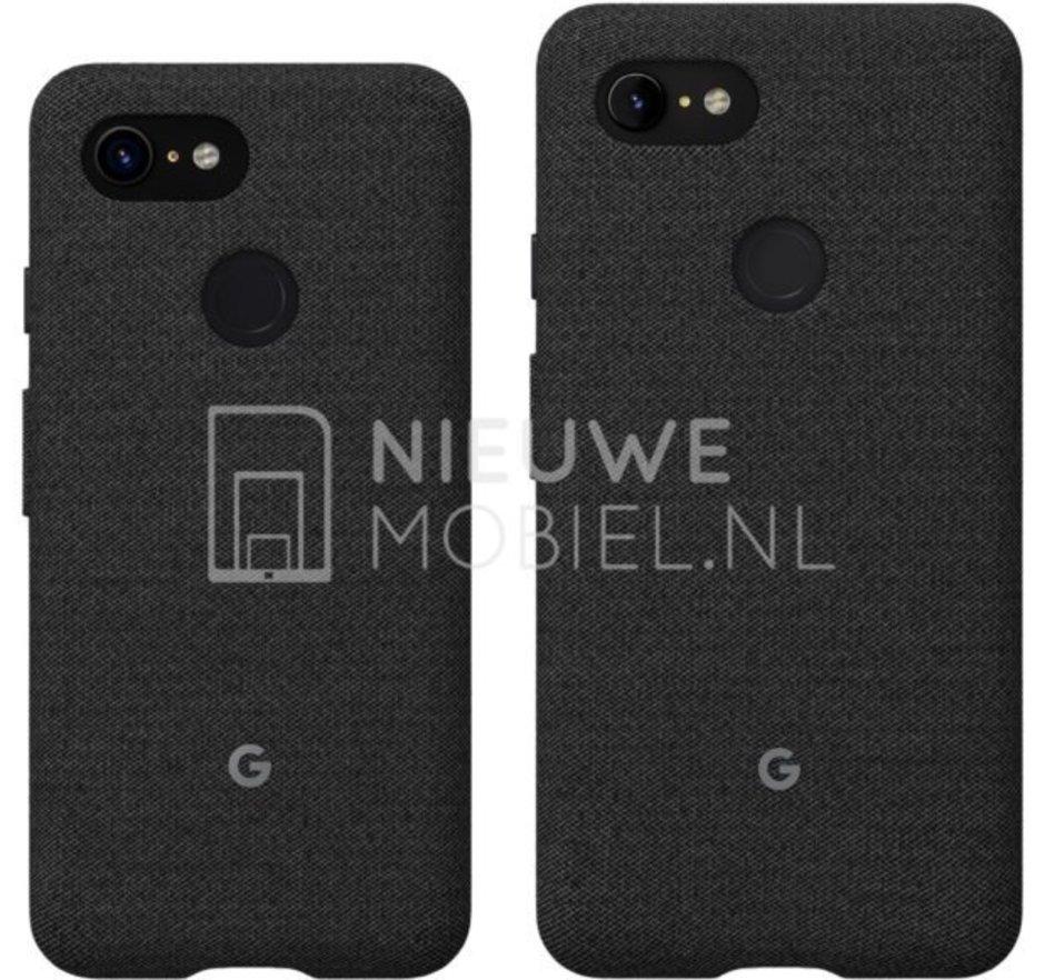 google pixel 3 e-3 xl back