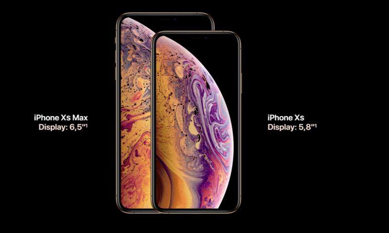 Ecco i nuovi iPhone XS ed iPhone XR