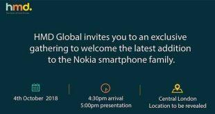 Nokia pianifica l'evento per il 4 ottobre dove presenterà il suo ultimo smartphone
