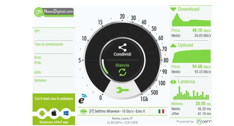 Iliad maglia nera nella velocità dei dati. Vodafone il Top, parola di nPerf
