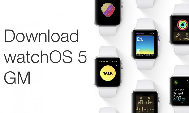 Apple WatchOS 5 confermata la sua disponibilità il 17 settembre