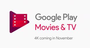 I Film acquistati su Google Play Film e TV si aggiorneranno gratis a 4K