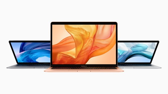 Apple presenta il nuovo MacBook Air 2018 con display Retina da 13,3 pollici
