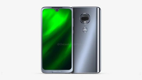 Moto G7 appare in alcuni render con notch waterdrop