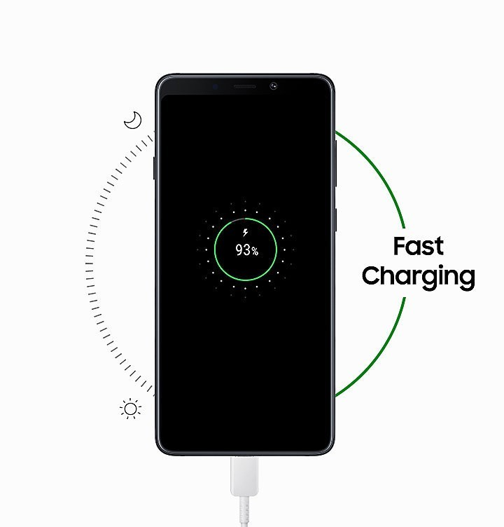 Samsung-Galaxy-A9-2018-charge