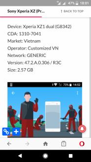 Ecco Android Pie per Xperia XZ Premium e la serie XZ1
