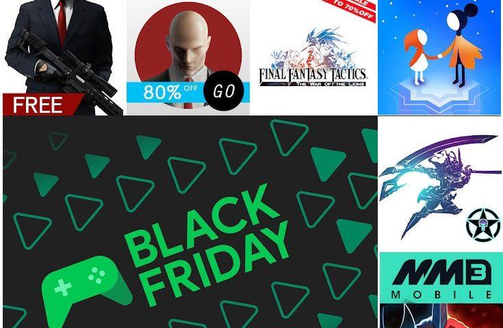 Black Friday Giochi Android sul Play Store. Tanti titoli gratis a tempo limitato