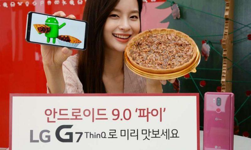 LG G7 ThinQ e LG V40 ThinQ si avvicinano ad Android Pie