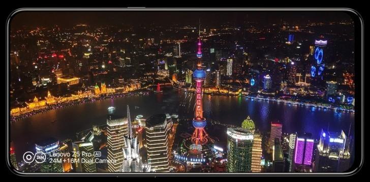 Lenozo Z5 Pro_panoramica