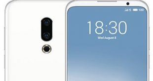 Meizu 16s, display intero mostrato da un render