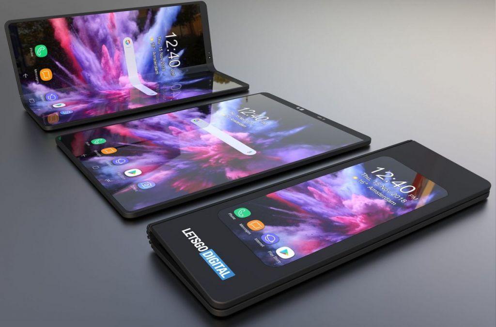 Smartphone pieghevole nel 2019 — Samsung