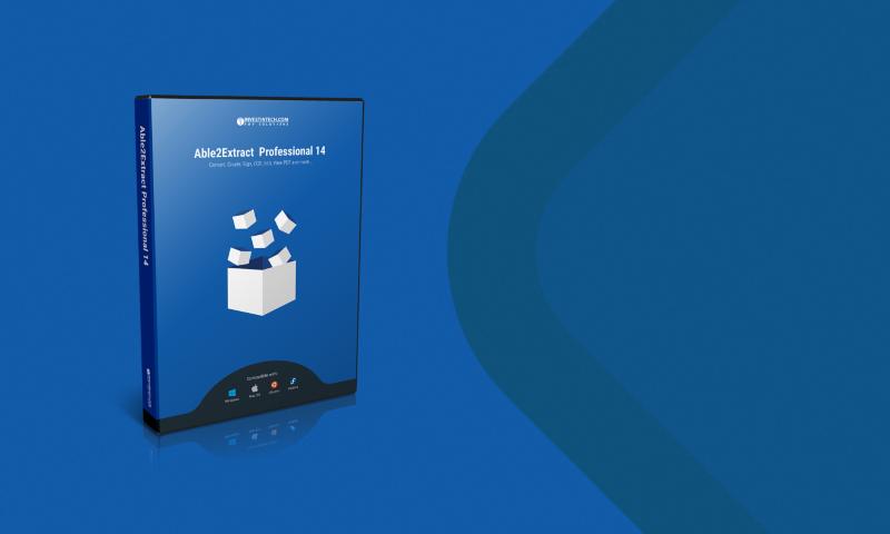 Able2Extract Professional 14: soluzione completa per la gestione dei PDF