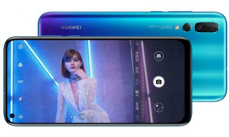 Huawei Nova 4 è ufficiale con un comparto foto da paura