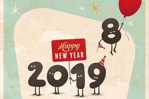 Fare colpo con auguri di Capodanno 2019: frasi, immagini, video e GIF