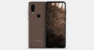 Motorola P40: i render del nuovo modello svelano il buco sullo schermo