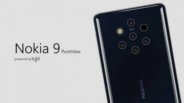 Nokia 9 Pure View: nuovi leak confermano cinque fotocamere