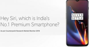 OnePlus celebra i suoi successi in India prendendo in giro Apple